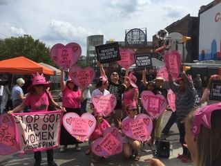 CODEPINK dance, sing & shout on last day of RNC