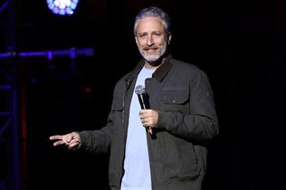 Jon Stewart shines with appearance on Colbert