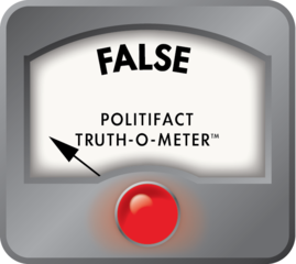 PolitiFact: Trump distorts history of the I-X...