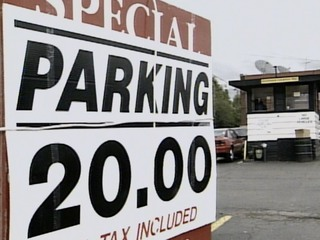Vault: Tribe '97 'outrageous' parking prices