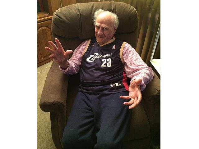 Lebron james grandfather