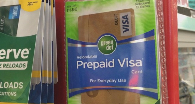 why you should never give this prepaid visa card as a gift - Green Dot Prepaid Visa Card