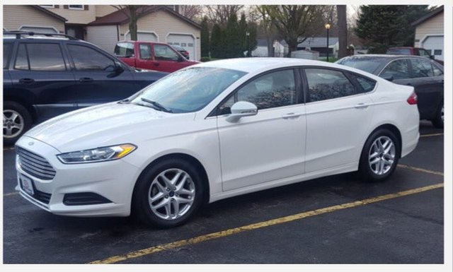 Search For A White Ford Fusion Like Looking For A Needle In A - Ford