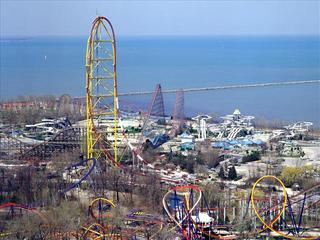 Power outage in Erie Co. affecting Cedar Point