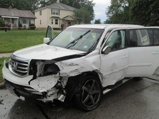 Six Car Crash In Clevend