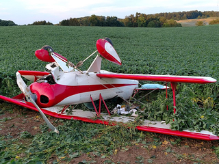 Small plane crash in Ashland County