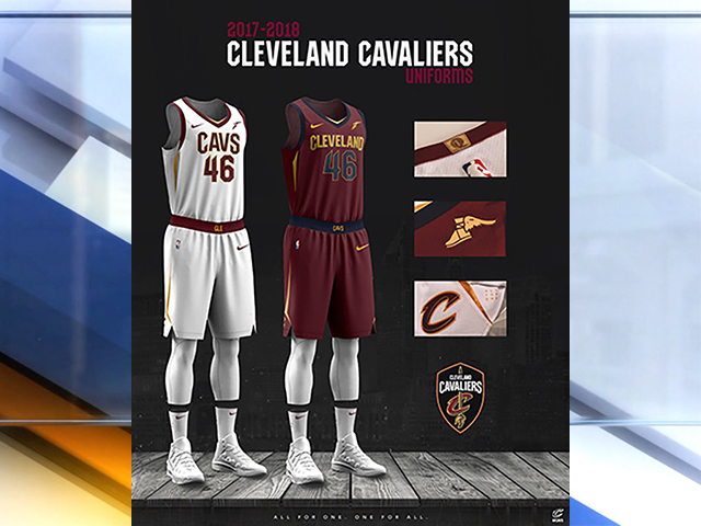 Cleveland Cavaliers Unveil New Uniforms For The 2017 2018 Season