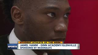 Student Athlete of the Week: Jamel Hamm