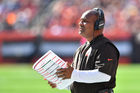 Hue Jackson is finally going to jump in the lake