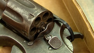Vintage revolver found with Goodwill donations