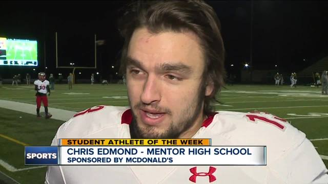Student Athlete of the Week- Chris Edmond