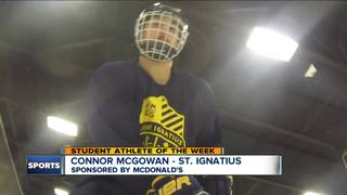 Student Athlete of the Week: Connor McGowan