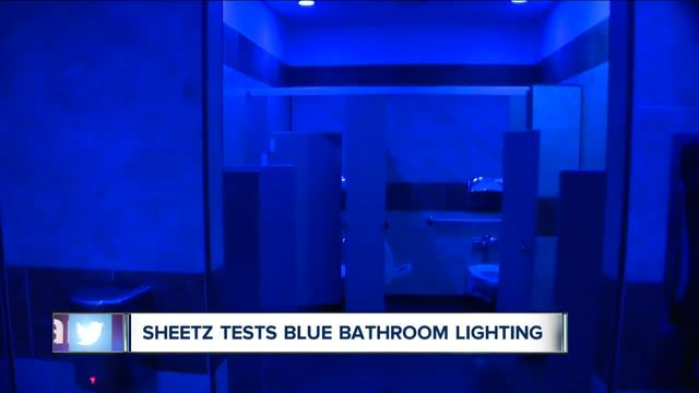 Gas Station Chain Sheetz Installs Anti Heroin Lighting In Bathrooms But  Addicts Say It Wonu0027t Work