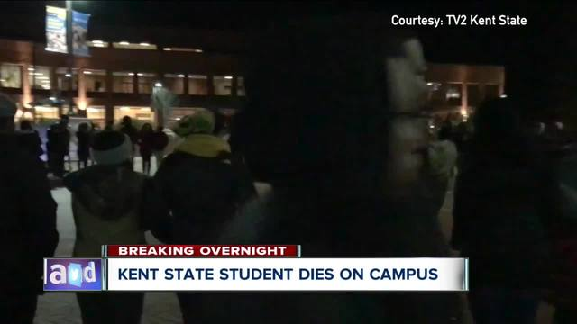 Kent State offers grief counseling after student passes away