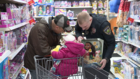 120 kids shop with cops for holidays