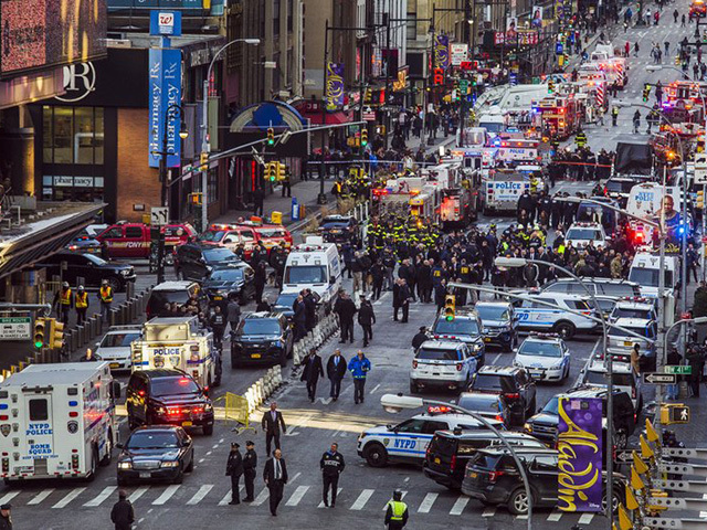 Terrorism suspect in custody following NYC explosion