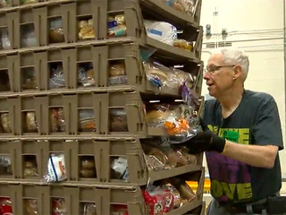 CLE Food Bank feeding families for holidays
