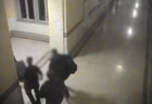 Surveillance video: Raid at Cleveland City Hall