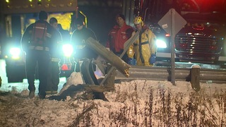 Man rescued after driving into Chagrin River