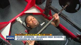 Student Athlete of the Week: Duce Johnson