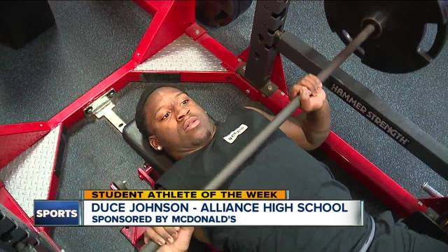 Student Athlete of the Week- Duce Johnson
