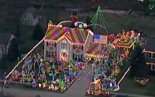 video you have to see this incredible christmas light display in north ridgeville news 5 cleveland