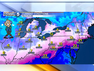 LIVE BLOG: Harsh wind chills, pockets of snow