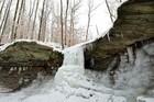 PHOTOS: Stunning frozen waterfalls across NEO