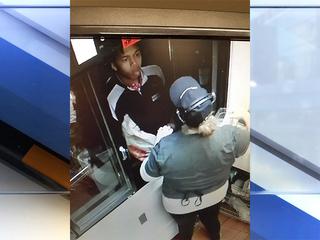 Angry customer slaps McDonald's employee