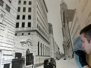 VIDEO: Artist draws CLE street in amazing detail