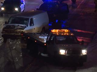 8 crashes along I-480 westbound before I-77