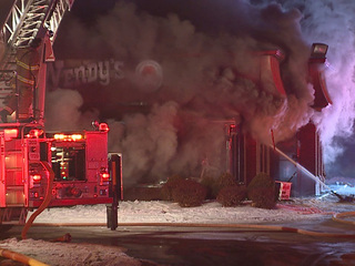 Wendy's in Stow destroyed by fire