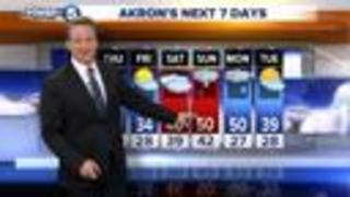 FORECAST: Warmer air later this week