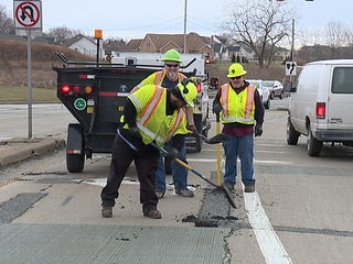 ODOT switching out from plowing to potholes
