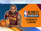 LeBron named NBA All-Star starter for 14th year