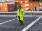 Euclid crossing guard vies to be best in US