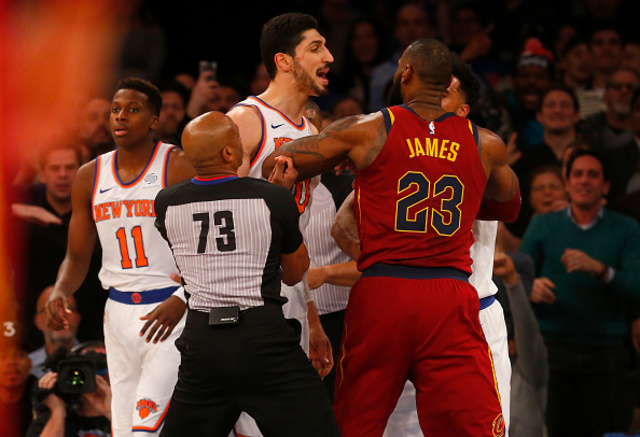 Enes Kanter Warned About Trolling LeBron James