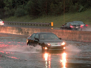 Continued flooding on I-90 causes concerns