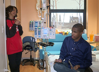 Leukemia patient determined to graduate college