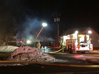 20 fire departments respond to fire in Burton