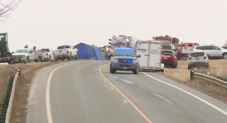 Cargo train derails in Ashland County