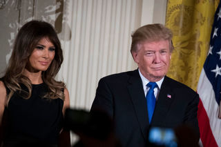 Trump, first lady head to OH for rare joint trip