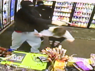 Akron robbery suspects attack store workers