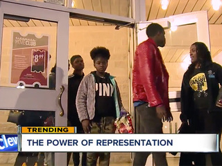 Black Panther film has big impact on local teens