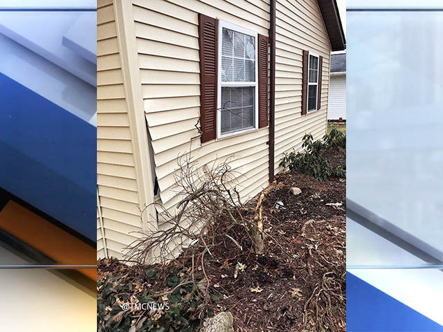 Car crashes into home for second time in a year