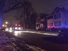 Dead body found burning in open fire in CLE yard