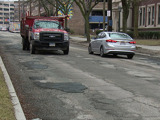 Problems with pothole filling in Cleveland