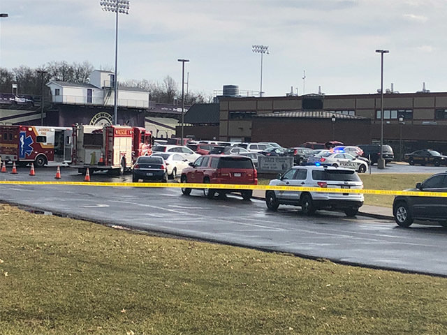 OH  school on lockdown after police say 7th-grader shot himself