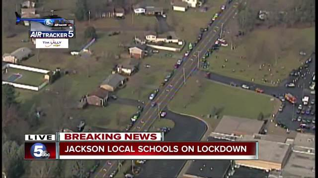 Schools on lockdown after student shot himself in Ohio