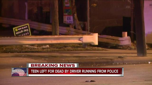 Car Fleeing Police Strikes, Badly Injures 14-year-old Boy